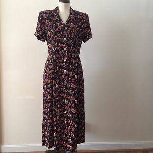 Vintage Button Up Dress